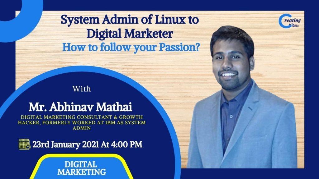 Abhinav Mathai Streaming Poster