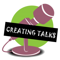 Creating Talks Logo PNG Format